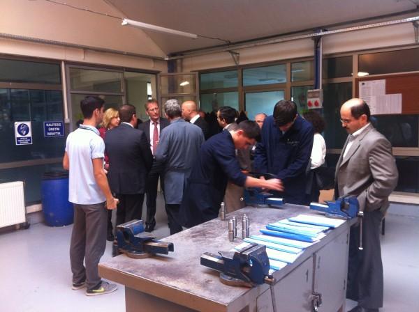 Besuch in der Partnerschule in Bursa