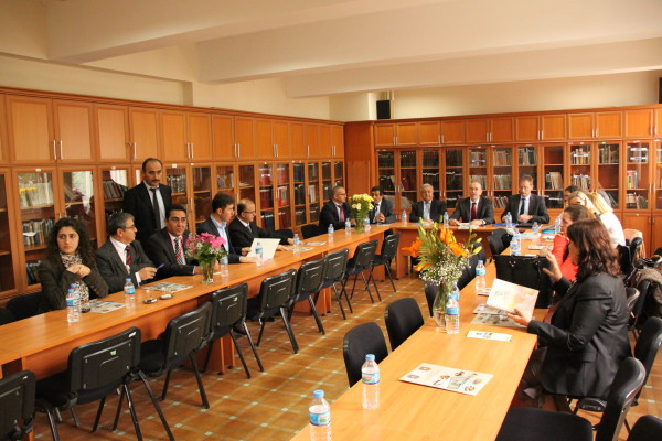 Erste gemeinsame Arbeitssitzung in Bursa