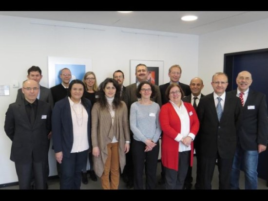 Die türkische Delegation mit ihren Gießener Gastgebern Foto: Loh