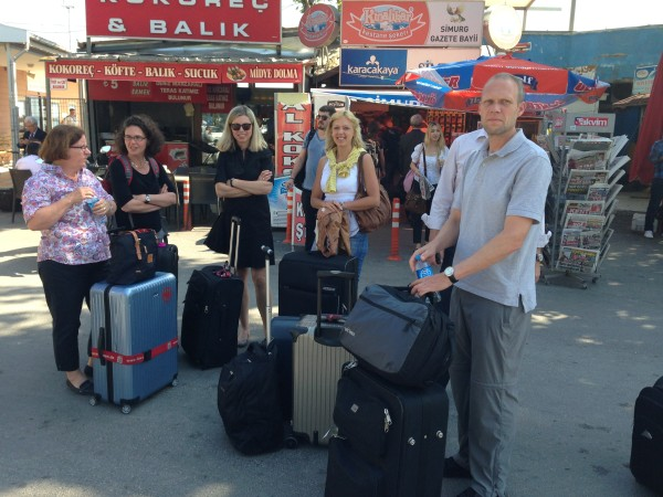 Ankunft der Gießener Gruppe in Bursa