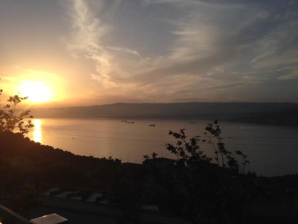 Sonnenuntergang in der Bucht von Gemlik